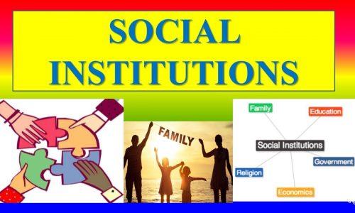 Fungsi Lembaga Sosial Irlandia