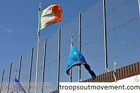 Referendum Irlandia Bersatu Pada 'Tembok Perdamaian'