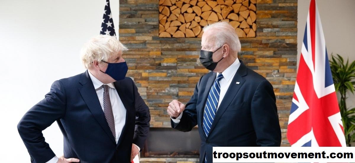 Biden Memberi Tahu Johnson, perdagangan Tidak Boleh Mengancam Perdamaian di Irlandia Utara