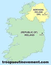 Partition of Ireland Pemisahan Antara irlandia Dengan UK